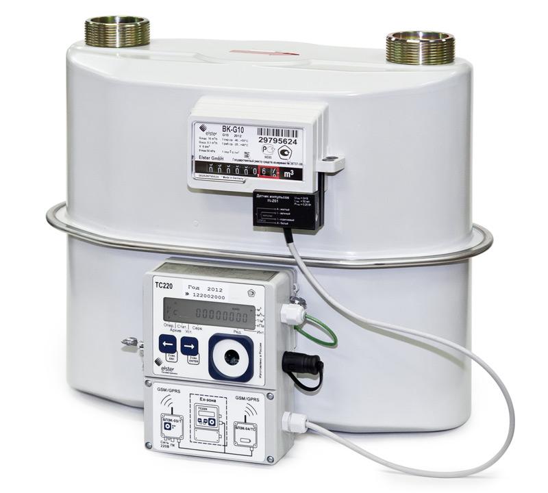 Комплексы для измерения количества газа