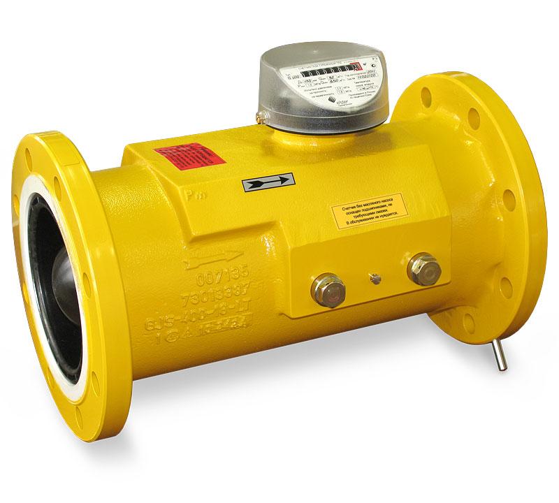 Счетчик газа  Delta G400 DN150 1:160 PN12 bar Max 650 Min 4 m3/час